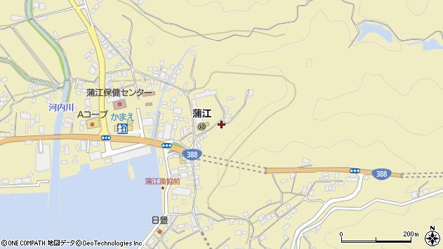 大分県佐伯市蒲江大字蒲江浦3431周辺の地図