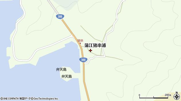 大分県佐伯市蒲江大字猪串浦425周辺の地図