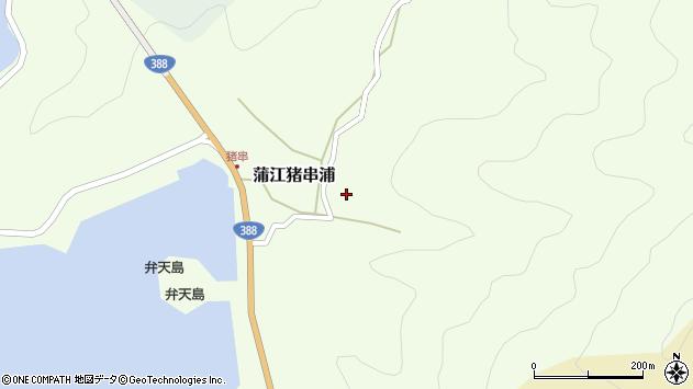 大分県佐伯市蒲江大字猪串浦477周辺の地図