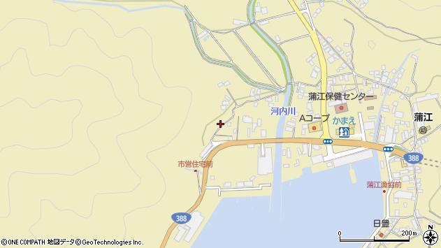 大分県佐伯市蒲江大字蒲江浦4485周辺の地図