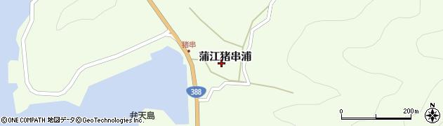 大分県佐伯市蒲江大字猪串浦494周辺の地図