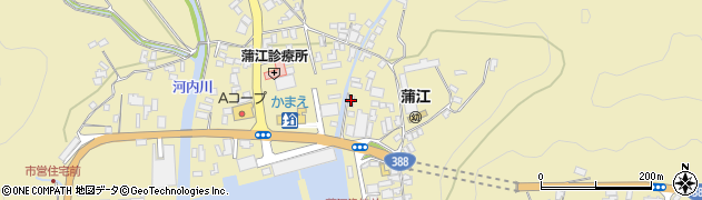 大分県佐伯市蒲江大字蒲江浦5102周辺の地図