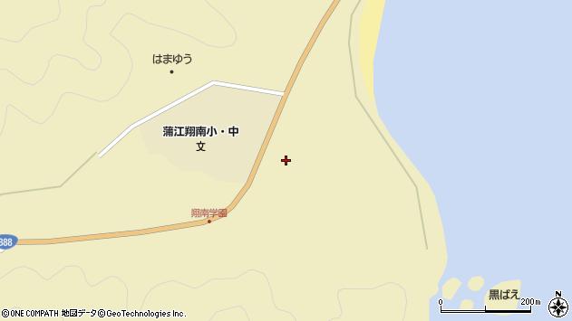 大分県佐伯市蒲江大字蒲江浦1107周辺の地図