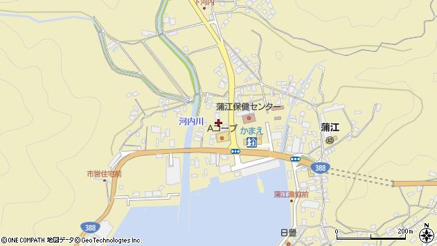 大分県佐伯市蒲江大字蒲江浦3544周辺の地図