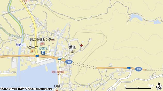 大分県佐伯市蒲江大字蒲江浦3453周辺の地図