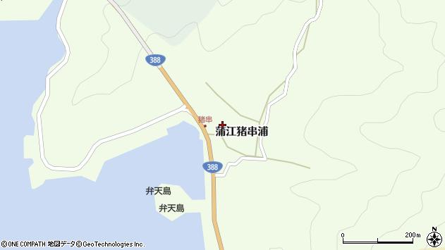 大分県佐伯市蒲江大字猪串浦554周辺の地図