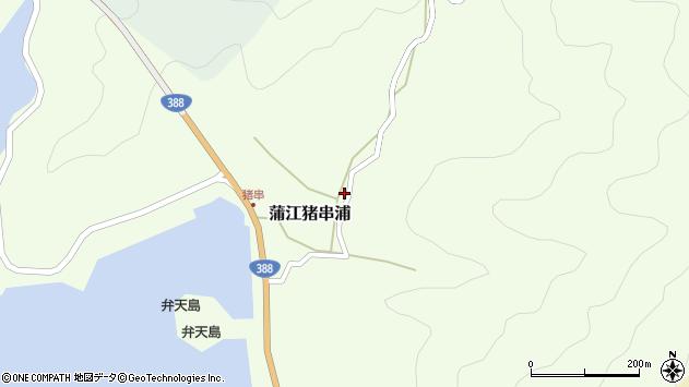 大分県佐伯市蒲江大字猪串浦584周辺の地図