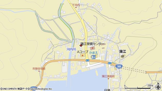 大分県佐伯市蒲江大字蒲江浦3543周辺の地図