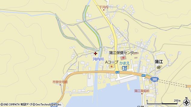 大分県佐伯市蒲江大字蒲江浦4464周辺の地図