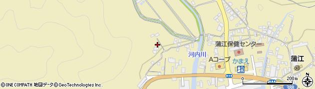 大分県佐伯市蒲江大字蒲江浦4449周辺の地図