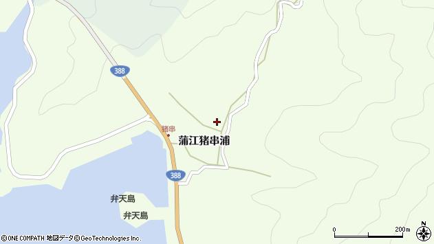 大分県佐伯市蒲江大字猪串浦576周辺の地図
