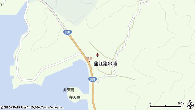大分県佐伯市蒲江大字猪串浦547周辺の地図
