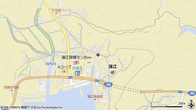 大分県佐伯市蒲江大字蒲江浦5100周辺の地図