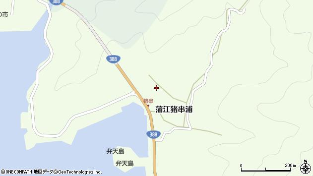 大分県佐伯市蒲江大字猪串浦548周辺の地図