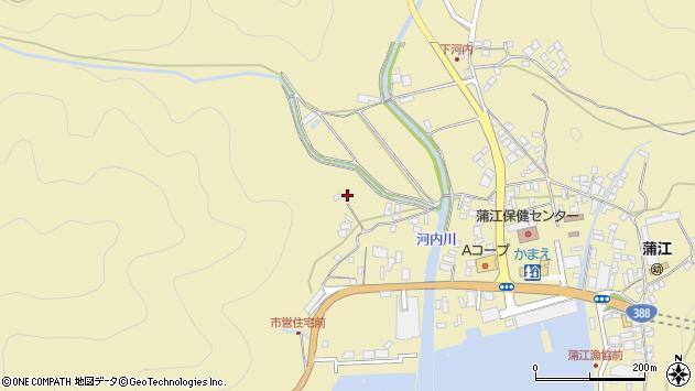 大分県佐伯市蒲江大字蒲江浦4444周辺の地図