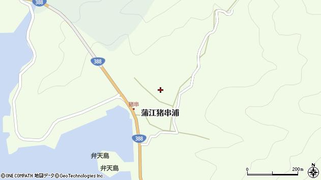 大分県佐伯市蒲江大字猪串浦556周辺の地図