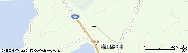 大分県佐伯市蒲江大字猪串浦848周辺の地図