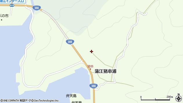 大分県佐伯市蒲江大字猪串浦853周辺の地図