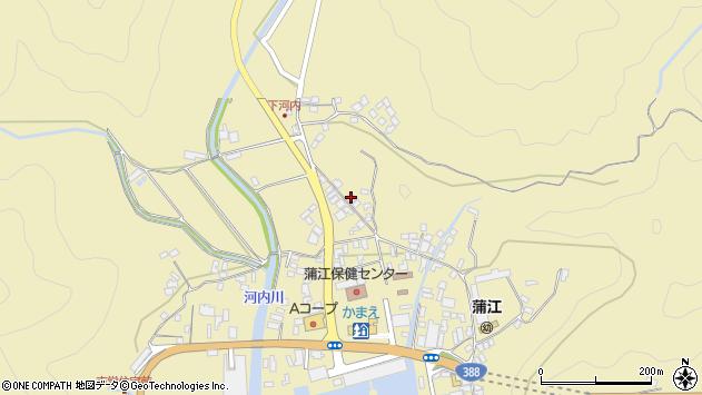 大分県佐伯市蒲江大字蒲江浦3593周辺の地図