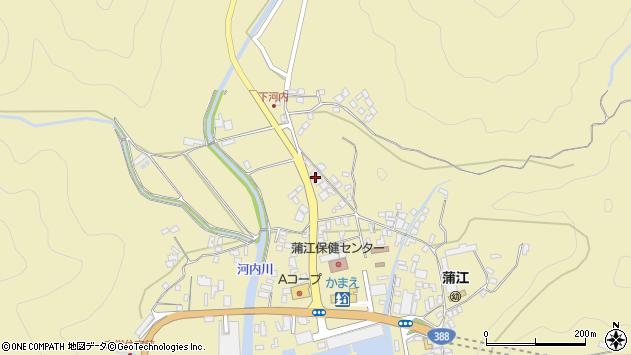 大分県佐伯市蒲江大字蒲江浦3581周辺の地図