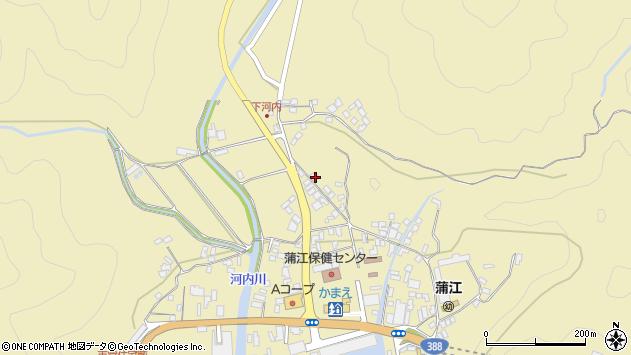 大分県佐伯市蒲江大字蒲江浦3595周辺の地図