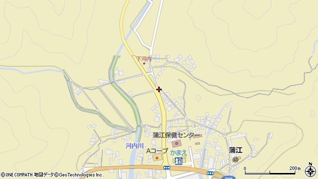 大分県佐伯市蒲江大字蒲江浦3568周辺の地図