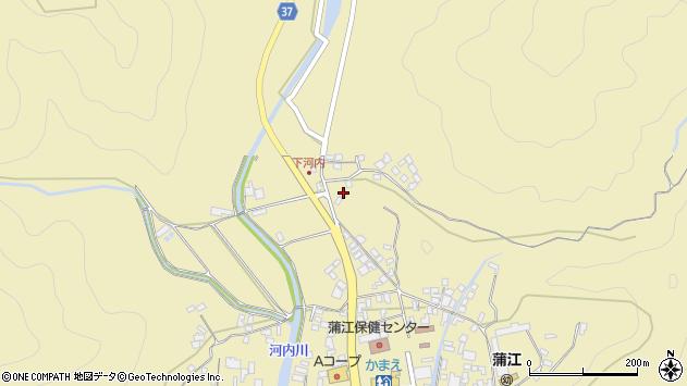 大分県佐伯市蒲江大字蒲江浦3722周辺の地図