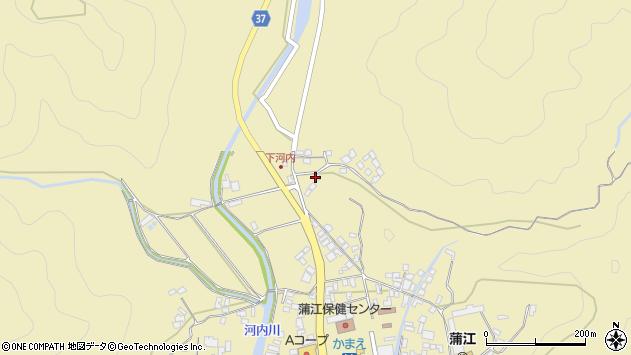 大分県佐伯市蒲江大字蒲江浦3660周辺の地図