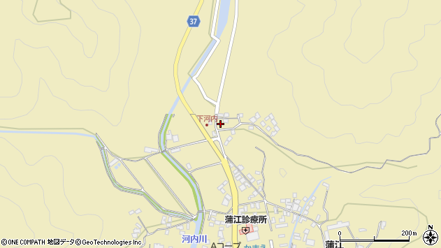 大分県佐伯市蒲江大字蒲江浦3832周辺の地図