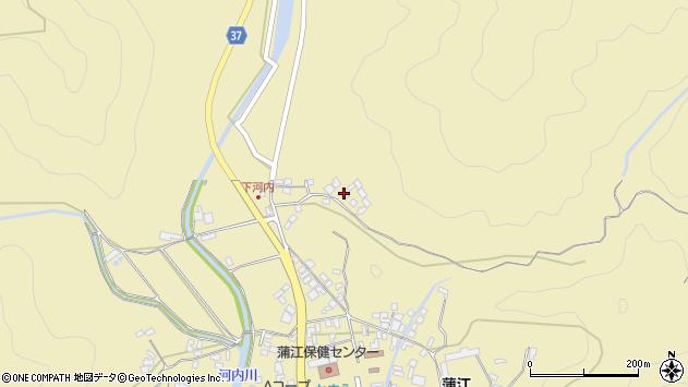 大分県佐伯市蒲江大字蒲江浦3808周辺の地図
