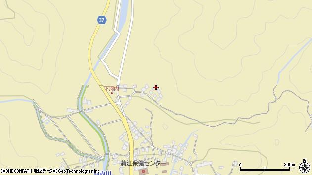 大分県佐伯市蒲江大字蒲江浦3804周辺の地図