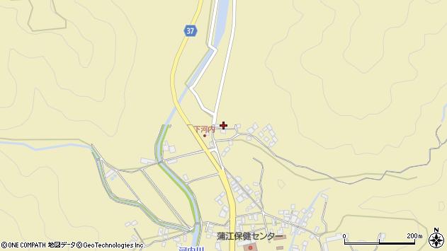 大分県佐伯市蒲江大字蒲江浦3835周辺の地図