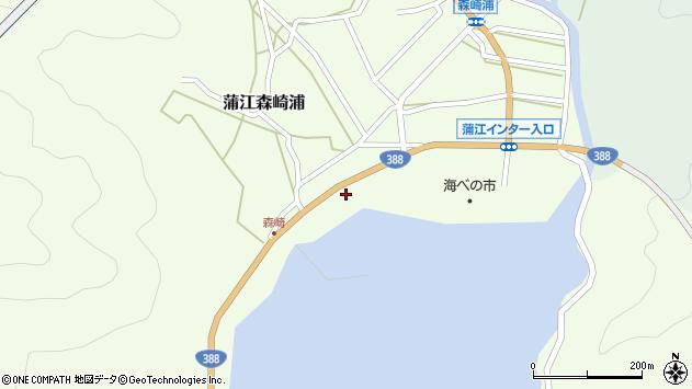 大分県佐伯市蒲江大字森崎浦1507周辺の地図