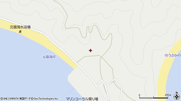 大分県佐伯市蒲江大字竹野浦河内2094周辺の地図