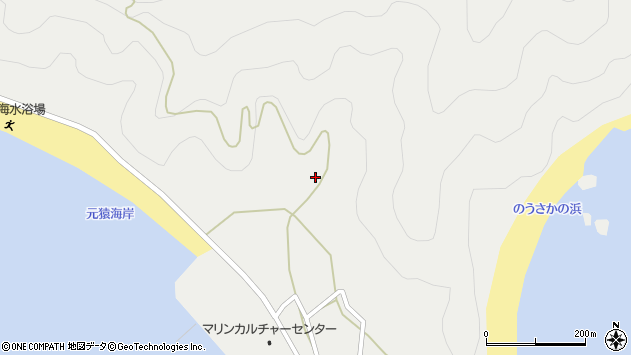 大分県佐伯市蒲江大字竹野浦河内1678周辺の地図