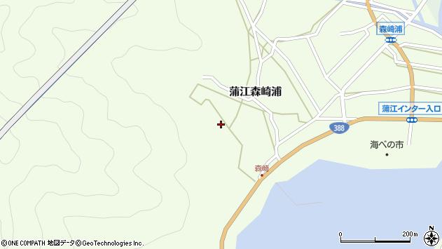 大分県佐伯市蒲江大字森崎浦1639周辺の地図