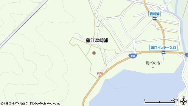大分県佐伯市蒲江大字森崎浦1562周辺の地図