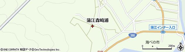 大分県佐伯市蒲江大字森崎浦1527周辺の地図