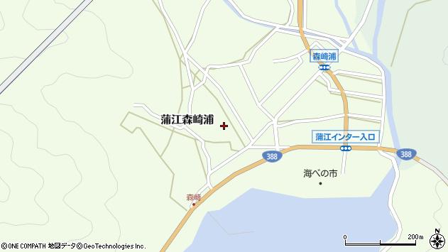 大分県佐伯市蒲江大字森崎浦1348周辺の地図