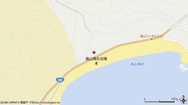 大分県佐伯市蒲江大字竹野浦河内1816周辺の地図