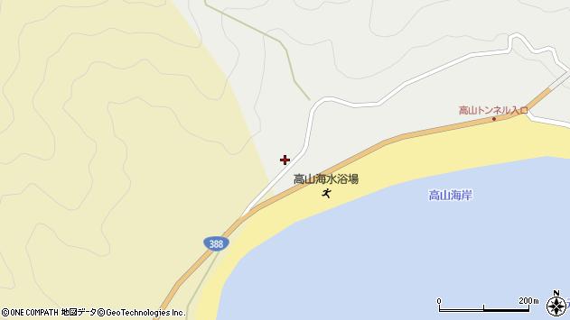 大分県佐伯市蒲江大字竹野浦河内2293周辺の地図