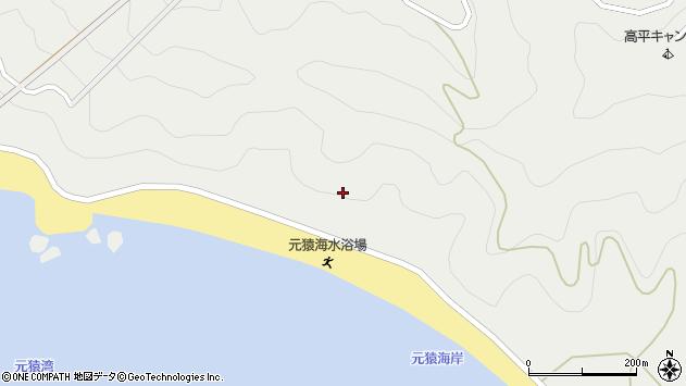 大分県佐伯市蒲江大字竹野浦河内元猿周辺の地図