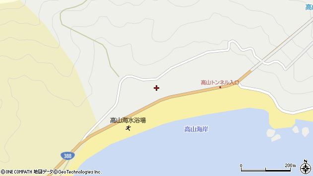 大分県佐伯市蒲江大字竹野浦河内2268周辺の地図