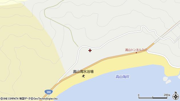 大分県佐伯市蒲江大字竹野浦河内2222周辺の地図