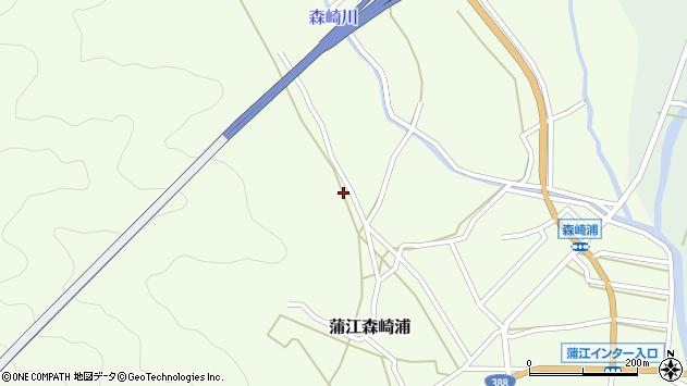 大分県佐伯市蒲江大字森崎浦1165周辺の地図