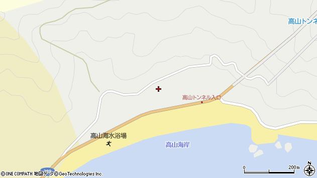 大分県佐伯市蒲江大字竹野浦河内2263周辺の地図