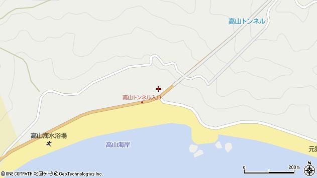 大分県佐伯市蒲江大字竹野浦河内2237周辺の地図
