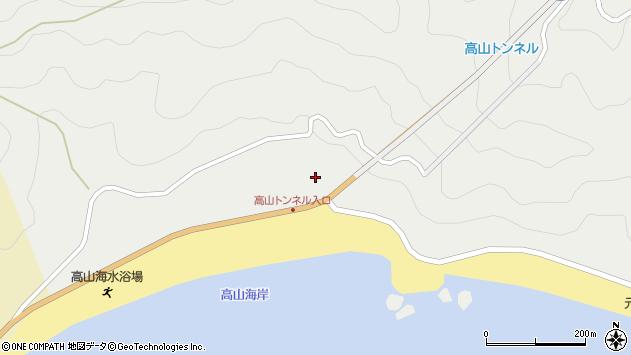 大分県佐伯市蒲江大字竹野浦河内2232周辺の地図