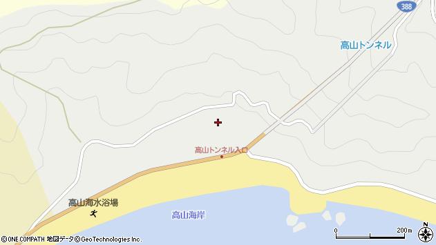 大分県佐伯市蒲江大字竹野浦河内2251周辺の地図