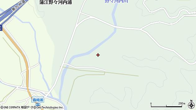 大分県佐伯市蒲江大字野々河内浦360周辺の地図